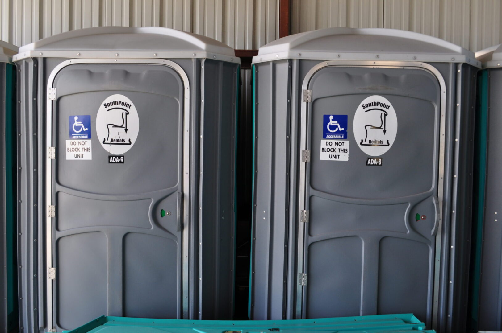 PWD-accessible portable restrooms